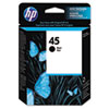 51645A (HP 45) Ink Cartridge, 930 Page-Yield, Black