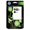 C4906AN (HP 940XL) Ink Cartridge, 2200 Page-Yield, Black