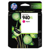 C4908AN (HP 940XL) Ink Cartridge, 1400 Page-Yield, Magenta