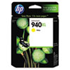 C4909AN (HP 940XL) Ink Cartridge, 1400 Page-Yield, Yellow