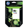 C6578AN (HP 78) Ink Cartridge, 1200 Page-Yield, Tri-Color