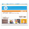 HP 8 mm DAT 160 Cartridge, 150m, 80GB Native/160GB Compressed Capacity
