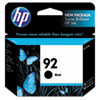 C9362WN (HP 92) Ink Cartridge, 220 Page-Yield, Black