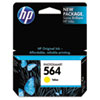 CB320WN (HP 564) Ink Cartridge, 300 Page-Yield, Yellow