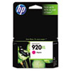 CD973AN (HP 920XL) High-Yield Ink Cartridge, 700 Page-Yield, Magenta