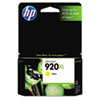 CD974AN (HP 920XL) High-Yield Ink Cartridge, 700 Page-Yield, Yellow