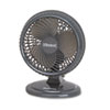 "Lil' Blizzard 7"" Two-Speed Oscillating Personal Table Fan, Plastic, Black"