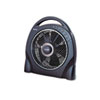 "12"" Oscillating Floor Fan w/Remote, Breeze Modes, 8 Hour Timer"