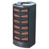 Ultra Quiet Ceramic Heater, 8-3/4 x 7-7/8 x 15, Dark Gray