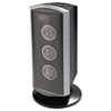 Holmes Triple Ceramic Heater w/Comfort Control Thermostat, Gray