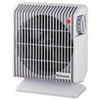 Compact Heater Fan, Gray, 4.84w x 8.19d x 9.92h