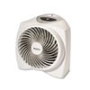 Holmes One-Touch Whisper Quiet 1500W Power Heater, 11 1/2w x 9d x 11h, White