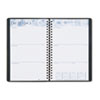 Academic Weekly/Monthly Appointment Book/Planner, 5 x 8, Black, 2012-2013