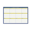 12-Month Laminated Wall Planner, 36 x 24