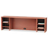 10500 Series Stack-On PC Organizer, 72w x 14-5/8d x 22h, Bourbon Cherry