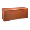 10700 Series Credenza With Doors, 72w x 24d x 29-1/2h, Henna Cherry