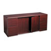 10700 Series Credenza With Doors, 72w x 24d x 29-1/2h, Mahogany