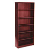 1870 Series Bookcase, 6 Shelves, 36w x 11-1/2d x 84h, Mahogany