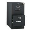 310 Series Two-Drawer, Full-Suspension File, Letter, 26-1/2d, Black