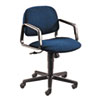 HON Solutions 4000 Series Seating Mid-Back Swivel/Tilt Chair, Blue