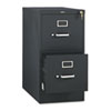 510 Series Two-Drawer Full-Suspension File, Letter, 29h x25d, Black