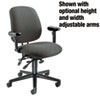 7700 Series Asynchronous Swivel/Tilt Task Chair, Seat Glide, Gray
