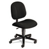 Every-Day Series Swivel-Back Pivot Task Chair, Black