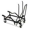 HON Olson Flex Stacker Series Cart, 19-3/8 x 38-7/8 x 38-5/8, Black
