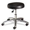 Medical Exam Stool without Back, 24-1/4 x 27-1/4 x 22, Black