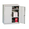 Assembled Storage Cabinet, 36w x 18 1/4d x 41 3/4h, Light Gray