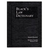 Houghton Mifflin Black's Law Dictionary, Hardcover, 1,738 Pages