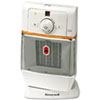 1500W Oscillating Ceramic Heater, 7-1/4 x 9-1/8 x 13-7/8, Chrome/Gray