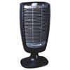 Honeywell Whole Room Heater w/Energy Smart, 9 7/10 x 7 3/10 x 19 3/10 Black