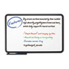 Ingenuity Dry Erase Board, Resin Frame with Tray, 36 x 24, Black