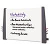 Notability Dry Erase Board, Resin End Caps, 48 x 36, Charcoal Finish