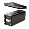 CD Storage Box, Holds 60 Slim/30 Std. Cases