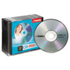 imation CD-RW Discs, 700MB/80min, 4x, w/Slim Jewel Cases, Silver, 10/Pack