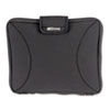 "Neoprene Laptop Sleeve, Fits to 15-6/10"", Zippered w/Handles, Black"