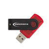 Innovera Portable USB 2.0 Flash Drive, 2GB