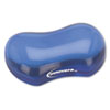 Innovera Gel Mouse Wrist Rest, Blue
