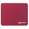 Innovera Natural Rubber Mouse Pad, Burgundy