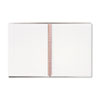 Polypropylene Twinwire Notebook, Margin Rule, 70 Sheets/Pad