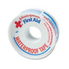 "First Aid Kit Waterproof Tape, 1/2"" x 10yds, White"