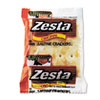 Zesta Saltine Crackers, 2 Crackers/Pack, 300 Packs/Carton