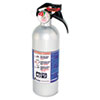 FX511 Automobile Fire Extinguisher, 5-B:C, 100psi, 14.5h x 3.25dia, 2lb