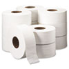 "TRADITION JRT Jumbo Roll Bathroom Tissue, 2-Ply, 8.9"" dia, 1000 ft, 12/Carton"
