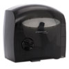 Electronic Coreless JRT Tissue Dispenser, 12 3/5w x 6 7/8d x 13h, Smoke/Gray