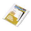 "80000 Series Legal Exhibit Index Dividers, Side Tab, Printed ""16"", 25/Pack"
