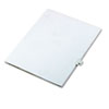 "80000 Series Legal Index Dividers, Side Tab, Printed ""41"", 25/Pack"