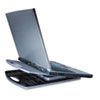 Liftoff Portable Notebook Cooling Stand, 9 3/4 x 12 1/4 x 1/2, Gray
